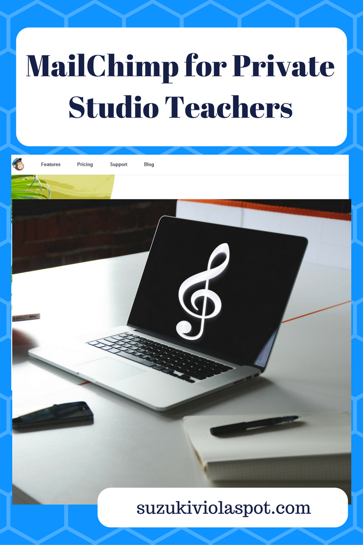 MailChimp for Private Studio Teachers