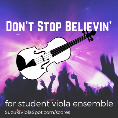 Don't Stop Believin' graphic