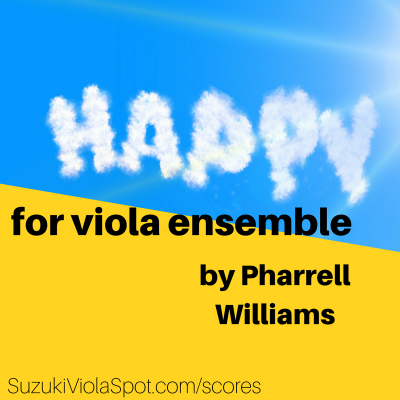 Happy for Viola Ensemble option 2
