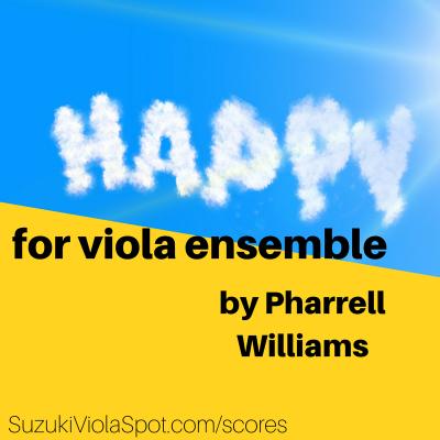 Happy for Viola Ensemble option 2
