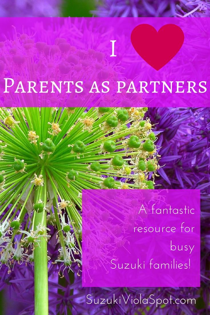 I Heart Parents As Partners