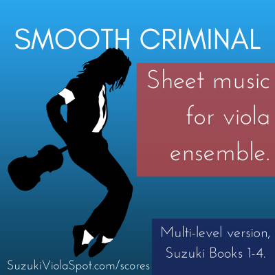 Smooth Criminal Sheet Music