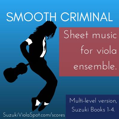 Smooth Criminal Sheet Music