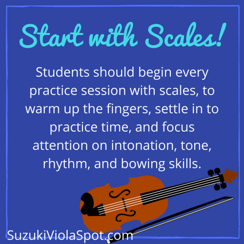 Start with Scales!