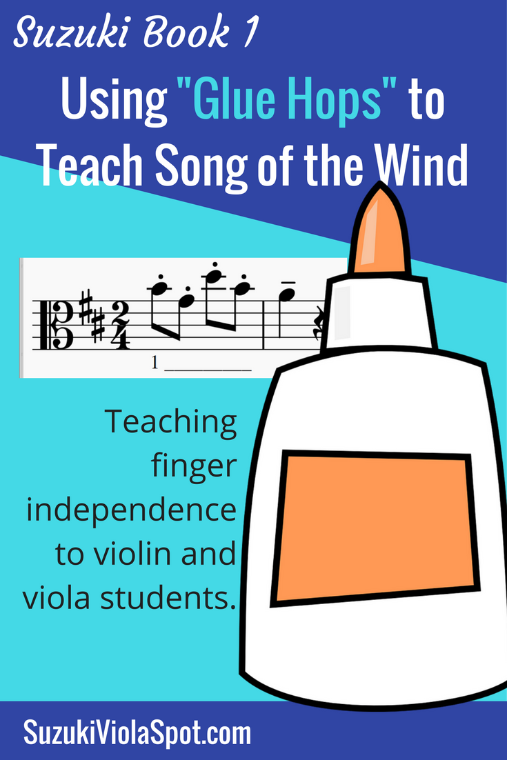 Using Glue Hops to Teach Song of the Wind